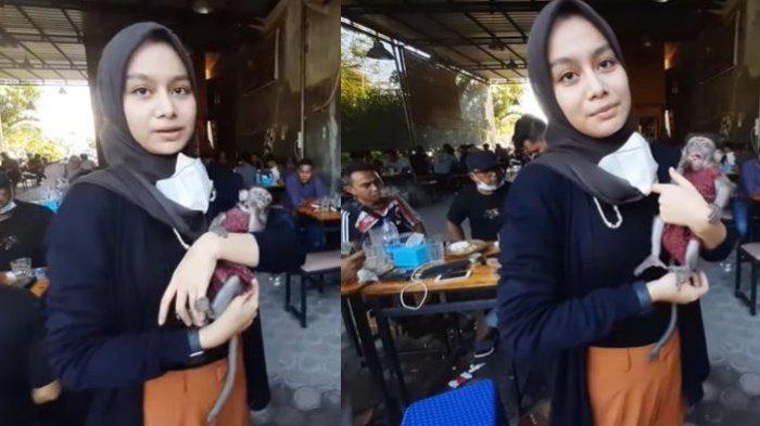 Siapa Vina Fitria? Calon Dokter Cantik yang Viral di Medsos, Hobinya Bawa Monyet Nongkrong di Kafe