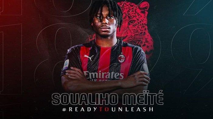 AC Milan, Klasemen Liga Italia Seri A, Resmi Perkenalkan Soualiho Meite sebagai Pemain Baru