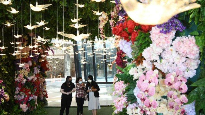 Spot Foto Viral di Ciputra World Mall Surabaya, Terasa Foto di Jewel Singapore Vortex