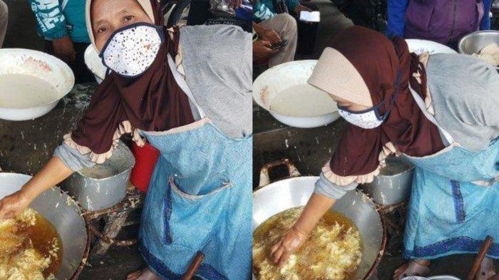 Nasib Mujur Penjual Gorengan di Magelang yang Kebal Minyak Panas, Kini Tuai Berkah Usai Viral