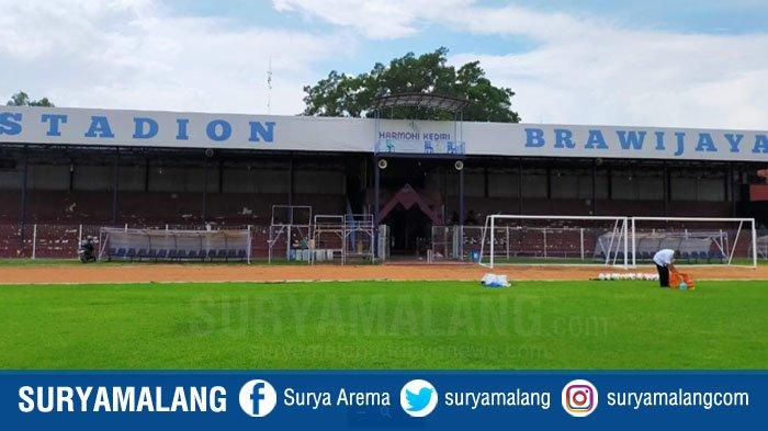 Kabar Bagus untuk Fans Persik Kediri, Stadion Brawijaya Mendapat Restu dari PT LIB untuk Laga Liga 1