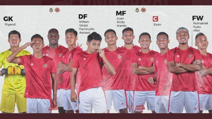 Indonesia Menang, Hasil Skor Sementara 1-0 Atas Taiwan di Babak 1, Pertandingan Masih Berlangsung