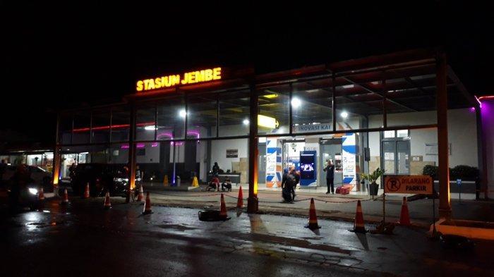 Jelang Pilpres, Lima Stasiun Daop IX Jember Dibantu Pengamanan Personil TNI