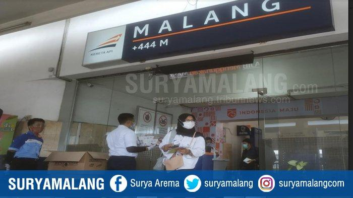 Puncak Kenaikan Jumlah Penumpang KA di Stasiun Kota Malang Diprediksi Terjadi pada 1 November 2020
