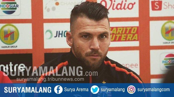 Madura United Vs Persija, Marko Simic Bicara Soal Persahabatan dan Singgung Nama Jaimerson Xavier
