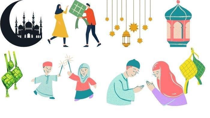 20 Stiker WhatsApp Lebaran Selamat Hari Raya Idul Fitri, Gambar Lucu Cocok Untuk Status Instagram