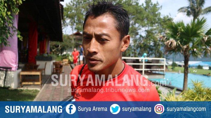 Update Kondisi Samsul Arif Jelang Laga Persebaya Vs PSS Sleman di Piala Menpora 2021