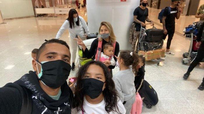 Suasana Perjalanan Striker Madura United, Beto Pulang ke Brasil : Bandara Sepi, dan Pesawat Sepi