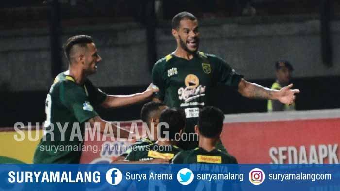 Skor Sementara Persebaya Vs Persela Lamongan 3-0, Masih Berlangsung,David da Silva Cetak Gol Lagi
