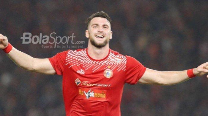 Fans Striker Persija Marko Simic Beri Desakan kepada Pelatih Timnas Kroasia