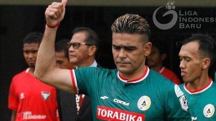 Tak Jelas Nasibnya di PSS Sleman, Cristian Gonzales Didekati Sriwijaya FC