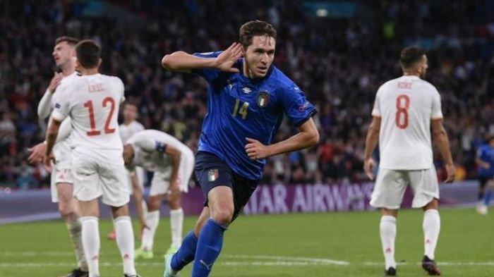 Sukses Bawa Italia Juara Euro 2020, Federico Chiesa Jadi Pemain Lokal Termahal di Liga Italia