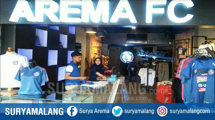 Suasana Arema FC Store