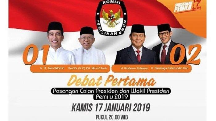 Sedang Berlangsung, Debat Pilpres 2019, Begini Suasana Jelang Debat di Hotel Bidakara
