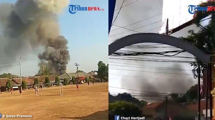 Video Suasana di Sekitar Gudang Senjata Mako Brimob Saat Terjadi Ledakan, Warga Kabur Menjauh