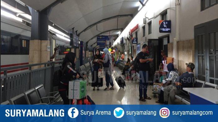 Jumlah Penumpang Kereta Api di Stasiun Malang Meningkat 15 Persen Selama Natal dan Tahun Baru