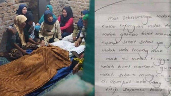 Gadis 20 Tahun Nekat Gantung Diri Gegara Gagal Nikah, Tulis Surat Wasiat Untuk Mantan, IMS: Pamit