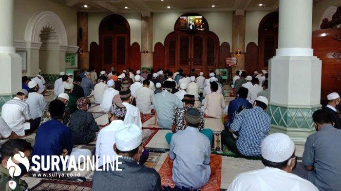 Masjid Agung Jami Malang Gelar Shalat Idul Fitri 2020 dengan Terapkan Protokol Kesehatan Covid-19