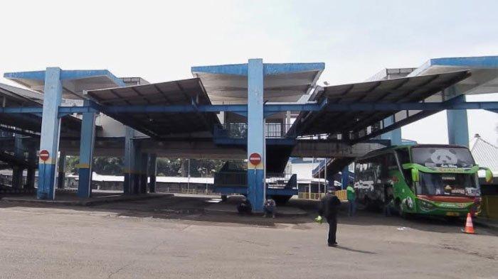 Suasana lenggang Terminal Arjosari Kota Malang pada hari pertama larangan mudik Lebaran 2021, Kamis (6/5/2021).