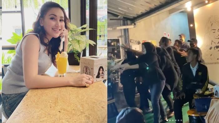'Hujan' Uang di Kafe Ayu Ting Ting Bikin Pegawai Heboh, Aksi Abdul Rozak Disorot: yang Penting Happy