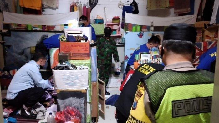 Tim Gabungan Satops Patnal Temukan 15 Sajam di Kamar Hunian Warga Binaan Lapas Kelas I Malang