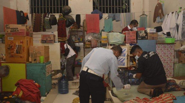 Penggeledahan di Lapas Kelas I Malang, 31 Sendok Disita Tim Satops Patnal Pemasyarakatan Jatim