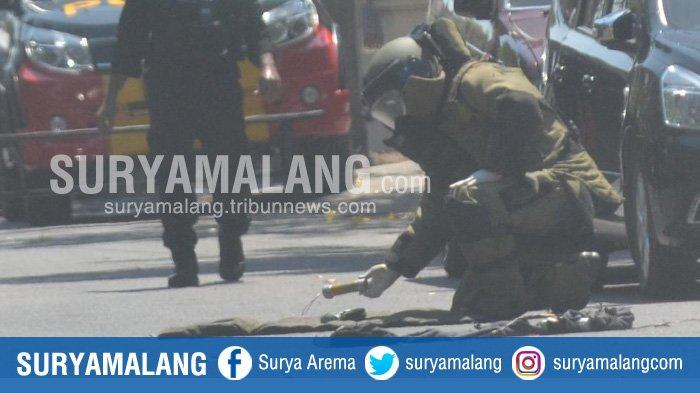 Polisi Temukan Bom di Rumah Pelaku di Rungkut Surabaya, Benda-Benda Ini juga Ditemukan di Lokasi