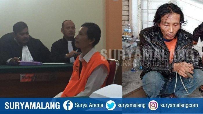 Breaking News : Terpidana Mutilasi Pasar Besar Malang, Sugeng Santoso Divonis Hukuman Mati