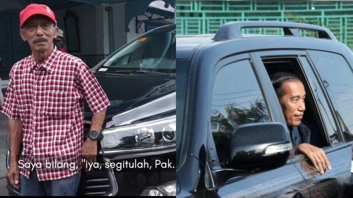Kronologi Jokowi Dorong Mobil Mogok Masih Diingat Mantan Sopir, Menolak Diminta Duduk di Dalam