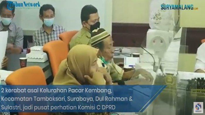 Video - 2 Kerabat Gegeran Soal Tanah di Komisi C DPRD Surabaya, Tak Mau Damai, Pilih Sumpah Pocong