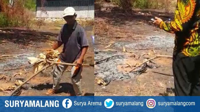 Sumenep Gempar! Ada Api yang Membara di Lahan Belakang Rumah Siti Fatimah