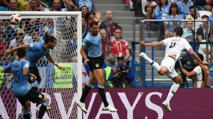 Hasil Piala Dunia 2018, Perancis Maju ke Semifinal Usai Tumbangkan Uruguay