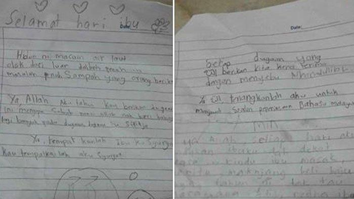 Isi Surat Anak Kepada Ibunya di Bulan Ramadan Bikin Haru, Membacanya Gak Kuat, Bikin Nangis