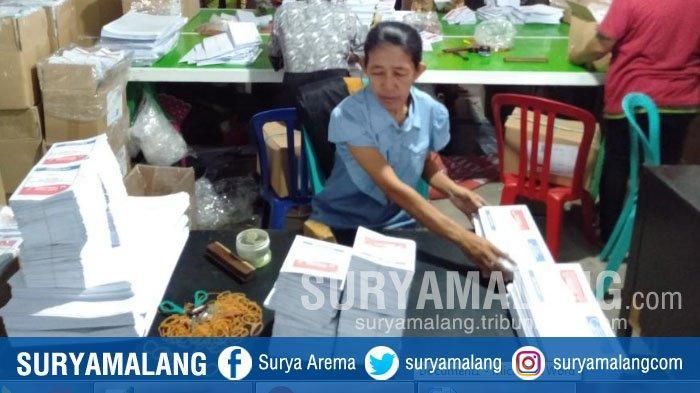 3 Bendel Surat Suara Pemilu 2019 Rusak Kena Air Hujan, Begini Penjelasan KPU Kabupaten Malang