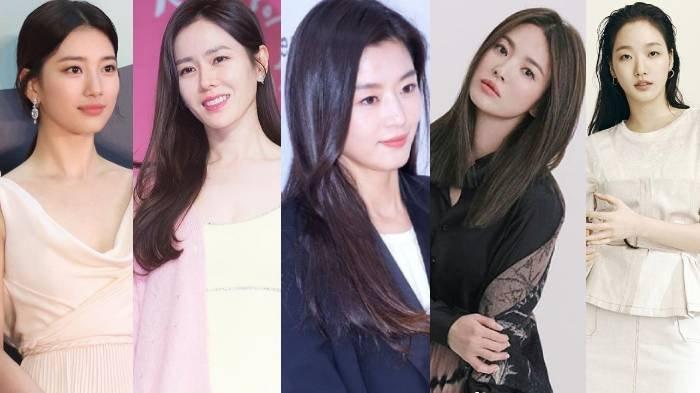 9 Foto Wajah Asli Aktris Korea Tanpa Makeup: Suzy, Son Ye Jin, Jun Ji Hyun, Song Hye Kyo, Kim Go Eun