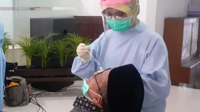 Masuk Kerja Perdana, 45 Anggota DPRD Kota Malang Jalani Tes Narkoba dan Swab Tes Antigen