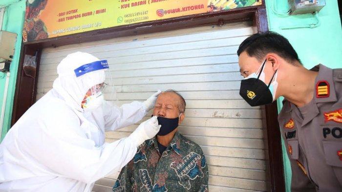 Kasus Covid-19 Bangkalan, Hasil Swab 10 Ribu Orang di Penyekatan & Pedagang Pasar Se-Surabaya Diswab