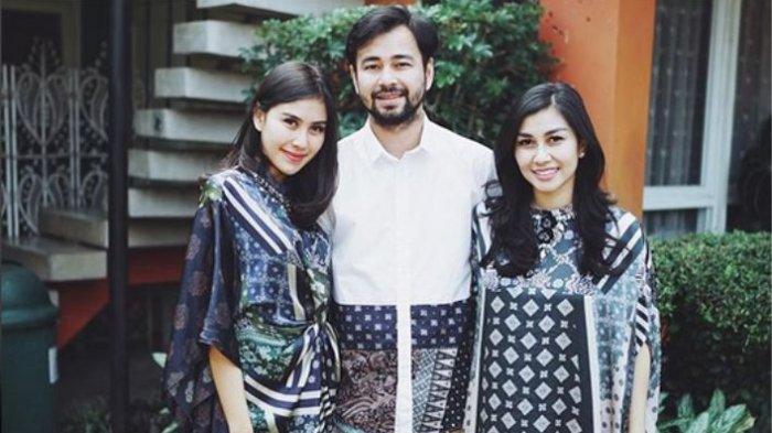 Syahnaz Sadiqah, Raffi Ahmad, dan Nisya.