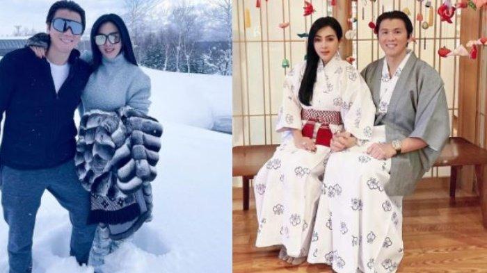 Foto-Foto Syahrini & Reino Barack Liburan di Jepang Disorot, Pesona Incess Pakai Kimono Bikin Salfok