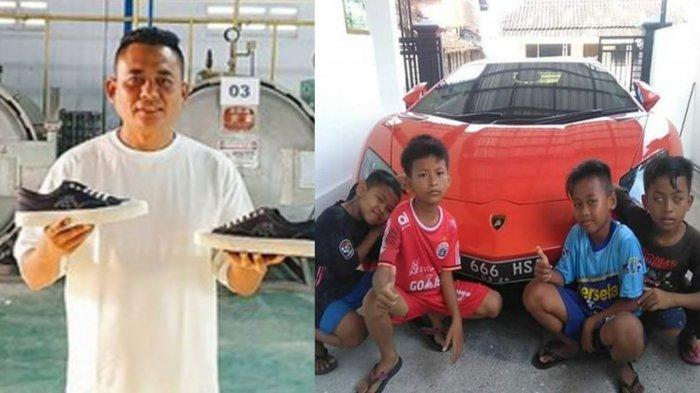 Ini Sosok Syaiful 'Sultan Lamongan', Anak Desa Lulusan SMP Pemilik Lamborghini Keliling Kampung