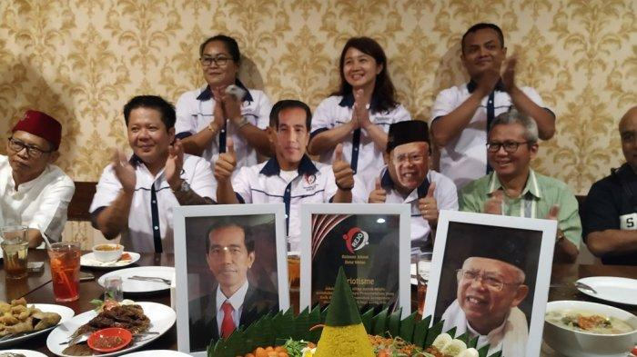 Ungkap Indikator Kuat Kemenangan Jokowi-Ma'ruf, Rejo Bang Wetan Surabaya Gelar Syukuran