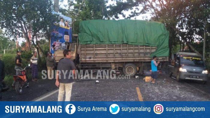 Kecelakaan Maut Adu Banteng Dua Truk di Bangsalsari Jember, Dua Sopir Tewas