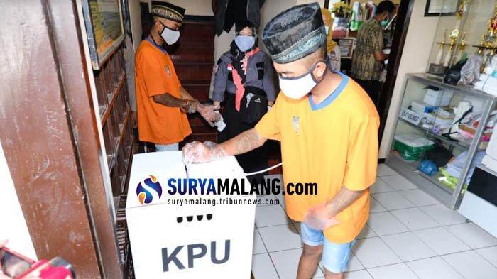 4 Tahanan Polres Batu Nyoblos Pilkada Malang 2020 di Polsek Pujon