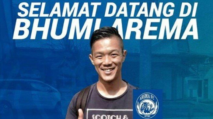 Sudah Tiba di Malang, Takafumi Akahoshi Akan Tes Kesehatan Sebelum Gabung Arema FC