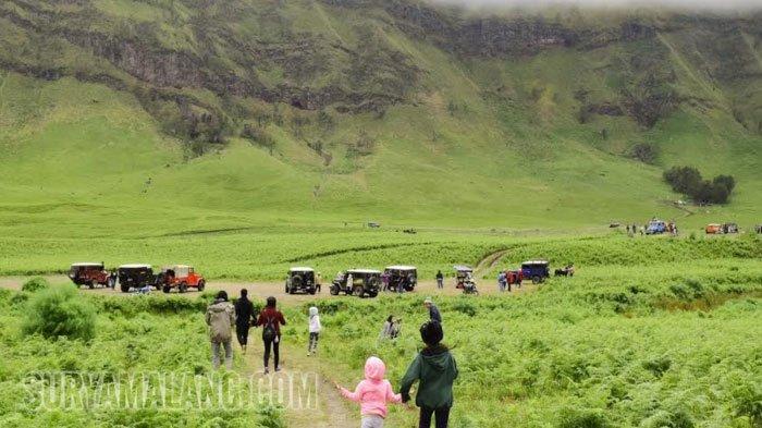 Car Free Month Gunung Bromo Berakhir, Wisatawan Kembali Bisa Gunakan Kendaraan Bermotor