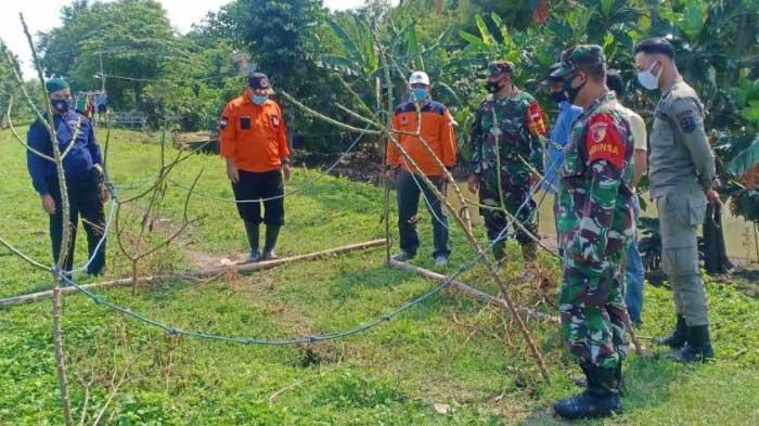 Tanggul Sungai Bengawan Solo Berlubang, BPBD Tuban Ungkap Penyebabnya Karena Hal Ini