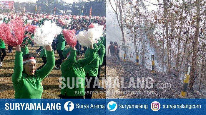 Rangkuman Kejadian di Malang Raya Kemarin, Mulai Cetak Rekor MURI sampai Kebakaran di 3 Lokasi