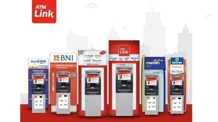 Tarif Tarik Tunai & Cek Saldo di ATM Link untuk Bank BRI Mandiri BNI BTN, Mulai Berlaku 1 Juni 2021