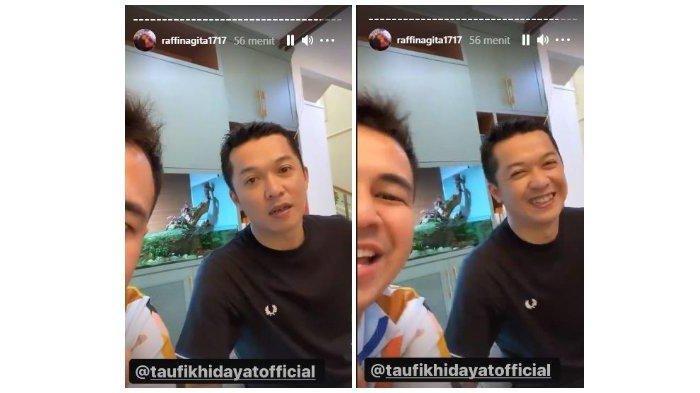Taufik Hidayat main ke rumah Raffi Ahmad dan Nagita Slavina