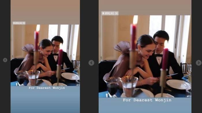Teman Kondangan Luna Maya Tampan dan Berjas Hitam, Romantis di Meja Makan, Sudah Mulai Go Publik?